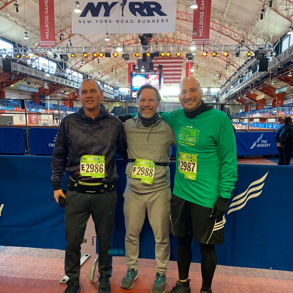 NYRR Washington Heights Salsa, Blues, and Shamrocks 5k (9+1)