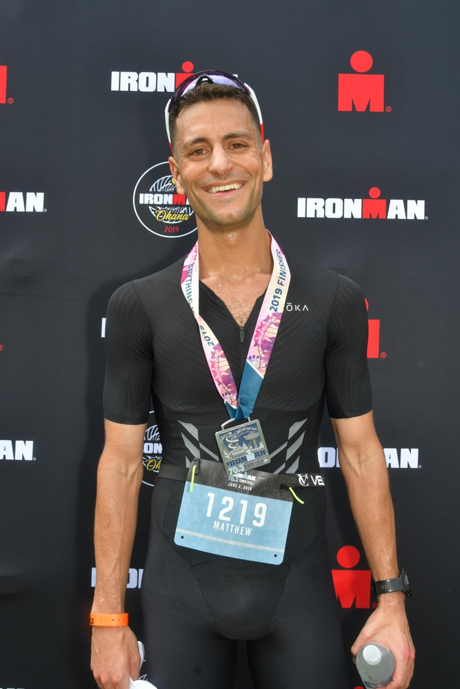 Right after finishing IM70.3CT knowing that I crushed it