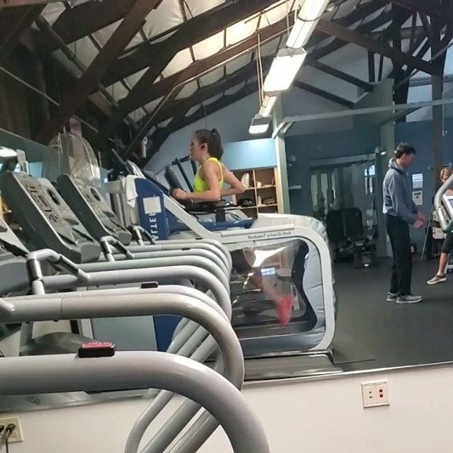 After having the femur cut in half, I have done most of my running in 2018 and 2019 on the AlterG - has been key to my come back.