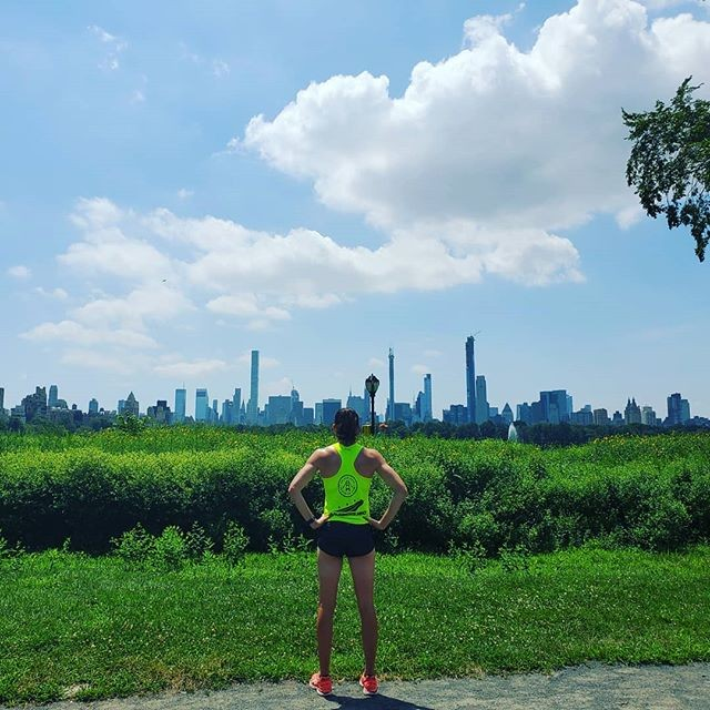 Run around Central Park after 2019 NYC Triathlon canceled. NYC 2020 I'm coming back for you!