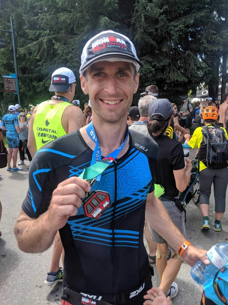 This was my first 70.3.  Whistler was no joke