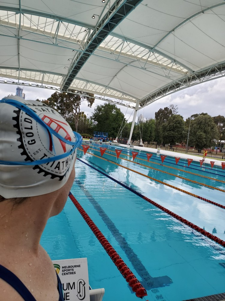 Back where my swimming began - Melbourne Sports & Aquatic Centre